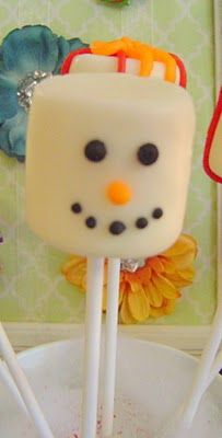 Simply Designing with Ashley: Marshmallow Pops