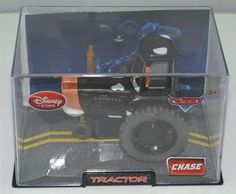 """MATTEL DISNEY PIXAR CARS CHASE TRACTOR  ADD THIS COLLECTIBLE VEHICLE TO YOUR COLLECTION  1) HOLSTEIN HEIFER TRACTOR  """"ADD THIS COOL VEHICLE TO YOUR COLLECTION BEFORE IT'S GONE!!"""", $19.88"""