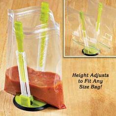 Ziploc Bag Holder