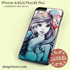 Ariel Fanart Phone case for iPhone 6/6s/6 Plus/6S plus