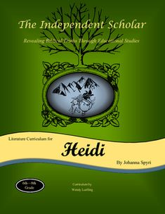 """The Independent scholar presents a christian based unit study guide for the book """"Heidi"""" by Johanna Spyri. This Study includes:- Reading comprehension questions- Spelling/Vocabulary words- Bible verses relevant to the story- Many projects to choose from, including geography, art, history, cooking, writing and more!Each Independent Scholar study guide incorporates cultural and historical facts that are relevant to the book being studied."""