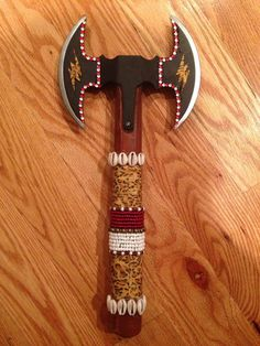 Axe for Chango by WeHandCraft on Etsy