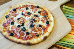 Thin & Crispy Pizza Crust | Bob's Red Mill | Yes, you can make GOOD pizza at home. Easy crust recipe using our artisan bread flour.
