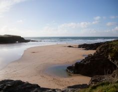 Our beach of the week is Treyarnon Bay - a favourite for rockpooling and sea swimming! #Cornwall #Beaches
