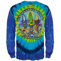 Grateful Dead - Beach Bear Bingo Long Sleeve T-Shirt | OldGlory.com