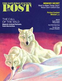 """See what's inside our November/December 2015 issue here: saturdayeveningpost.com/current-issue   On the cover: """"White Wolves"""" by Jack Murray was originally published on The Saturday Evening Post, March 8, 1941."""