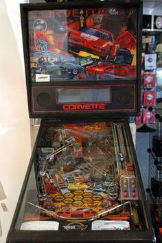 Corvette Pinball Machine For Sale Parts Accessories #corvette #corvettepinball #pinball