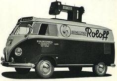 Vintage VW Bus Advertising - a set on Flickr