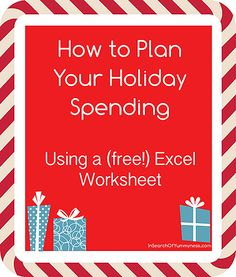 How to Plan Your Holiday Spending | InSearchOfYummyness.com #easy #budgeting