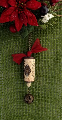 Hey, I found this really awesome Etsy listing at https://www.etsy.com/listing/215431899/wine-cork-ornament-christmas-ornament