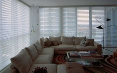 Automatic Hunter Douglas Silhouette installation by Shades By Design.
