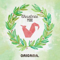 Origama in Christmas Mode!