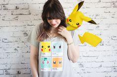http://melinasouza.com/2015/08/04/chico-rei-em-5-fatos-sobre-mim  Melina Souza - Serendipity <3  T-Shirt: Chico Rey  Pikachu - Pokemon