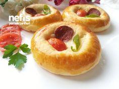 Yumuşacık Pizza Poğaça(pastane Tarifi)