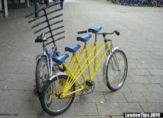 Bicicletas muti-sillin y multi-manillar