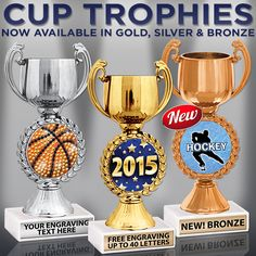 #CupTrophies In Ever