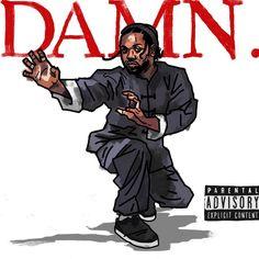 Arte Hip Hop, Hip Hop Art, Kung Fu Kenny, Trill Art, Kendrick Lamar, King Kendrick, Rapper Art, Hip Hop And R&b, Black Artwork