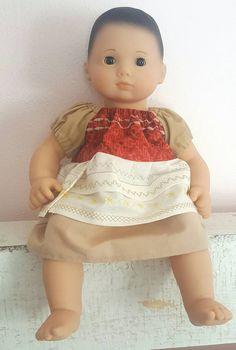 "15"" Doll Disney's Moana Inspired Peasant Princess Dress"