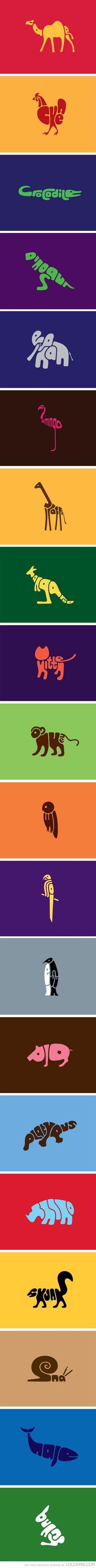 Word animals.