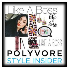 """""""Like A Boss"""" by dimeond711 ❤ liked on Polyvore featuring Mara Hoffman, Sophia Webster, Effy Jewelry and Kylie Cosmetics"""