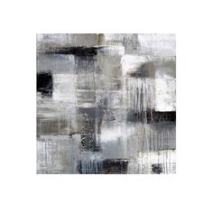 H&F MATRIX CANVAS ART   Hand Painted Abstract   1.5 inch Gallery Wrap