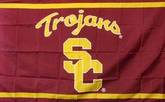 USC Trojans SC 3 x 5 Flag Banner