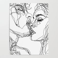 Kiss couple kissing illustration drawing art print - # i . kiss couple kissing illustration drawing art print - # i . Places to Visit Kiss couple kissing illustration drawing art print - . Kiss Illustration, Illustration Design Graphique, Drawing Sketches, Art Drawings, People Drawings, Pencil Drawings, Poster Drawing, Drawing People Kissing, Couple Kiss Drawing