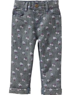 Printed Boyfriend Jeans for Baby Product Image