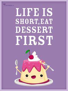 Das Leben in vollen Zügen genießen - mit diesen leckeren Desserts gelingt das ganz einfach!