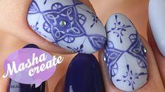 Маникюр с Рисунком на ногтях в Марокканком стиле. Узоры на ногтях Марокк...