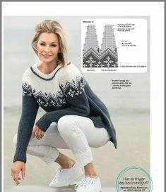 Scheme of round yoke Baby Knitting Patterns, Lace Knitting, Knitting Stitches, Tejido Fair Isle, Handgestrickte Pullover, Icelandic Sweaters, Crochet Wool, Hand Knitted Sweaters, Knit Fashion