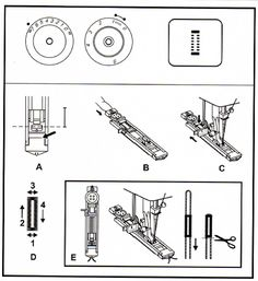 Con las Manos en la Aguja: Prensatelas Habituales Sewing Tools, Diagram, China, Newspaper, Sewing Machine Parts, Sewing Accessories, Sewing Patterns Free, Sewing Projects, Sewing Lessons