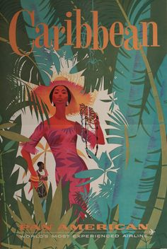 Vintage Travel Posters | CaraibiRockers: Vintage Travel Posters