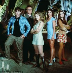 Buffy The Vampire Slayer and her team in 1997 when the show premiere