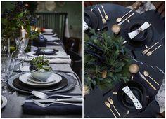 75 идей сервировки новогоднего ужина | http://idesign.today/dekor/75-idej-servirovki-novogodnego-uzhina