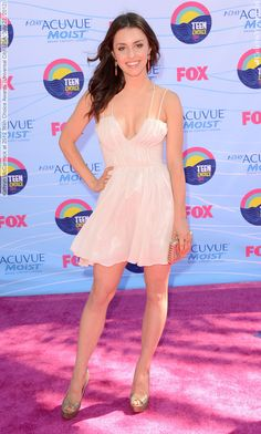 Kathryn McCormick at 2012 Teen Choice Awards (Universal City, USA, July 22, 2012)  #KathrynMcCormick
