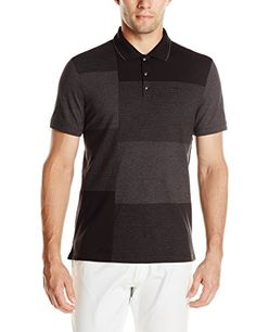 Calvin Klein Men's Refined Jersey Engineered Blocked Polo  http://www.allmenstyle.com/calvin-klein-mens-refined-jersey-engineered-blocked-polo/