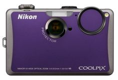 Purple Nikon CoolPix Camera