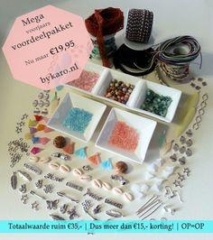 Nog 5 pakketten...   www.bykaro.nl voor kralen, bedels en meer...