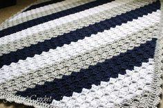 Kindra's Crochet | Corner-to-Corner Baby Blanket Pattern