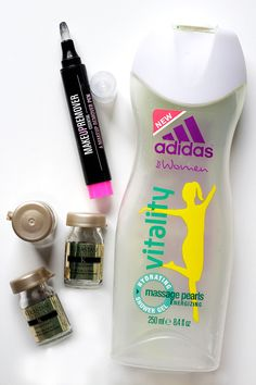 My empties in September. Read the whole review here: http://www.miss-annie.de/?p=1008 #adidas #products #review #blogger #beauty #kerastase #hair