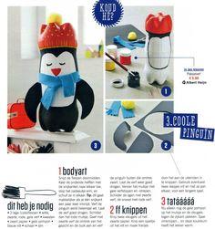 Sinterklaas, surprise, pinguin