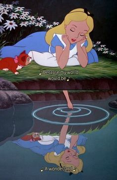 alice in wonderland. ♡