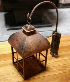 handmade outdoor lighting. vintage handmade rustic carriage lantern outdoor porch sconce lighting fixture e