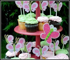 Butterfly Themed birthday party - Such cute ideas!!