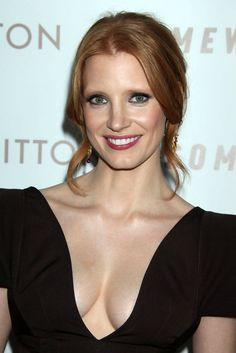 Jessica Chastain Lipgloss