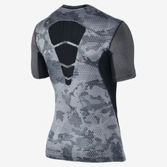 Nike Pro Combat Hypercool Fitted Grid Camo Men s T-Shirt 0ca35f61cedd7