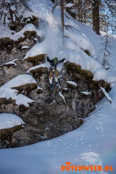Dutchweekend Italia 2015 #cliffjumping #dutchweek #winter #snow #fun #ski #snowboard
