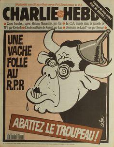 Charlie Hebdo - # 198 - 3 Avril 1996 - Couverture : Cabu