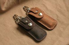 Leather Lighter case keyring